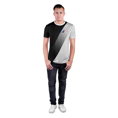 Мужская футболка 3D спортивная  Фото 04, BMW 2018 Элита
