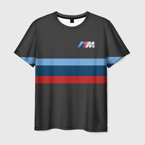 Мужская футболка 3D  Фото 01, BMW 2018 M Sport