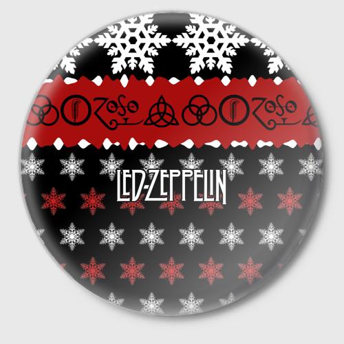Значок  Фото 01, Праздничный Led Zeppelin