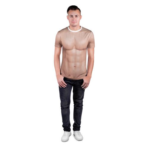 Мужская футболка 3D спортивная Костюм адама Фото 01