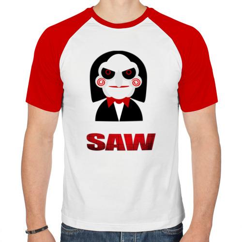Мужская футболка реглан  Фото 01, New saw