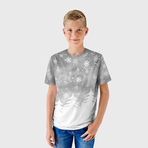 Детская футболка 3D  Фото 01, Лес