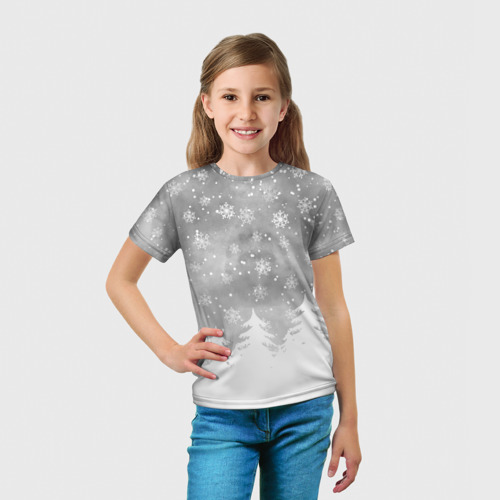 Детская футболка 3D  Фото 03, Лес