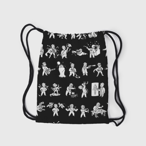 Рюкзак-мешок 3D  Фото 05, Фоллаут : Перки