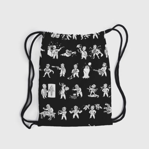 Рюкзак-мешок 3D  Фото 04, Фоллаут : Перки
