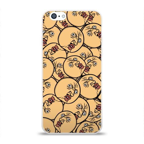 Чехол для Apple iPhone 6 силиконовый глянцевый  Фото 01, MEME Y U no