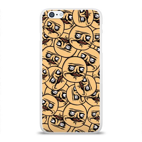 Чехол для Apple iPhone 6Plus/6SPlus силиконовый глянцевый MEME ME GUSTA Фото 01
