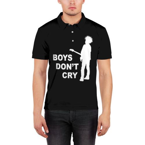 Мужская рубашка поло 3D  Фото 03, The Cure