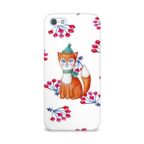 Чехол для Apple iPhone 5/5S 3D  Фото 01, Лисичка