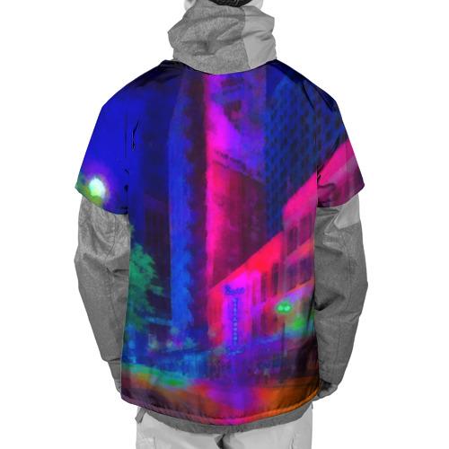 Накидка на куртку 3D Neon city Фото 01