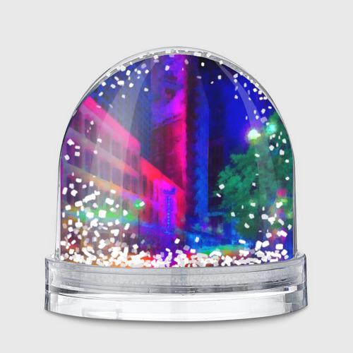 Снежный шар Neon city Фото 01