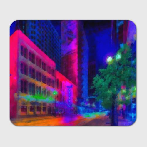 Коврик для мышки прямоугольный Neon city Фото 01