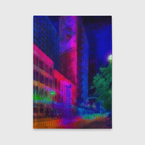 Обложка для автодокументов Neon city Фото 01