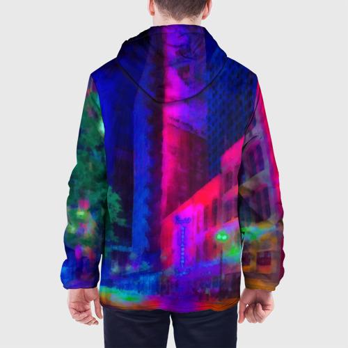 Мужская куртка 3D Neon city Фото 01