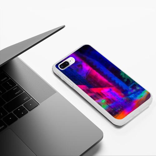 Чехол для iPhone 7Plus/8 Plus матовый Neon city Фото 01