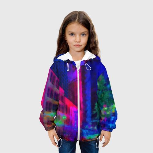 Детская куртка 3D  Фото 04, Neon city
