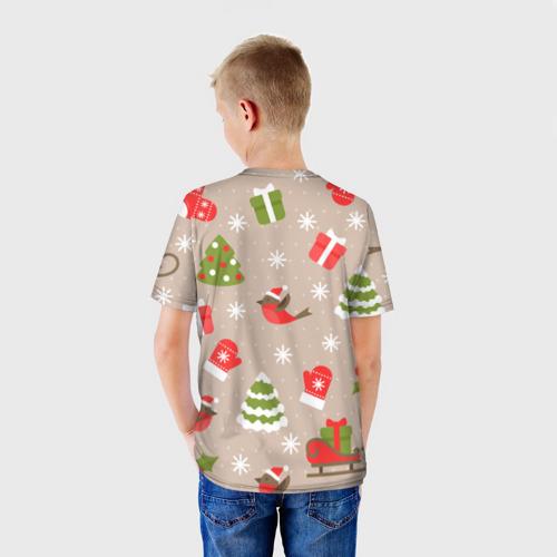 Детская футболка 3D К нам стучится Новый год!  Фото 01