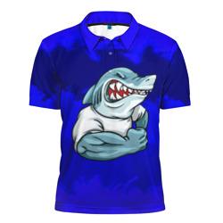 aggressive shark