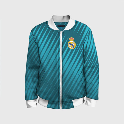Детский бомбер 3D Real Madrid 2018 Sportwear