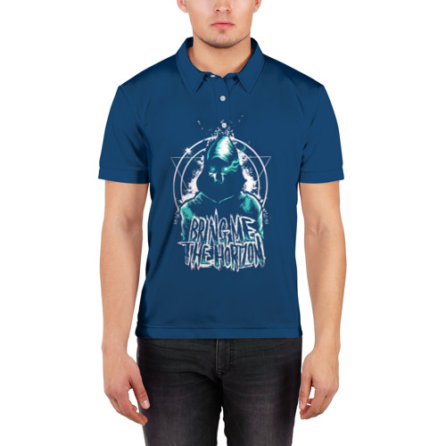 Мужская рубашка поло 3D  Фото 03, Bring Me the Horizon