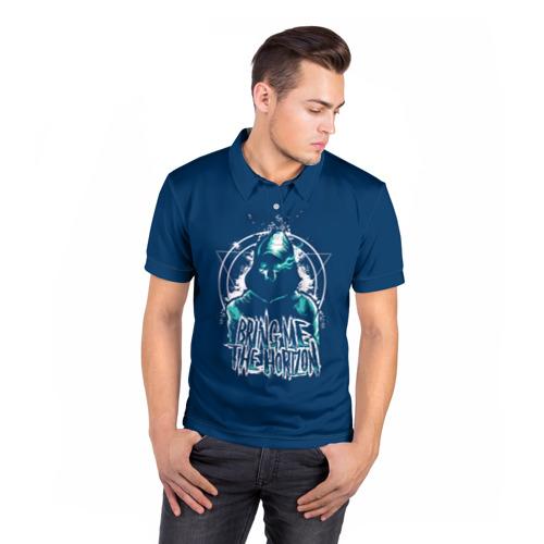 Мужская рубашка поло 3D  Фото 05, Bring Me the Horizon