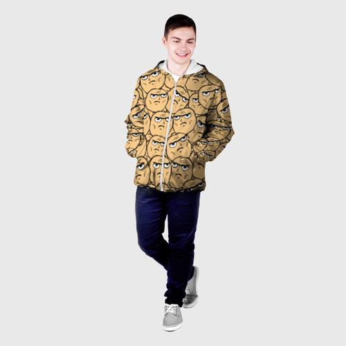 Мужская куртка 3D  Фото 03, MEME DETERMINED NOT OKAY