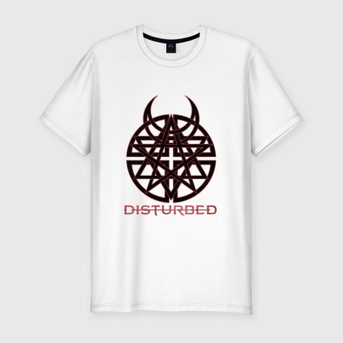Мужская футболка премиум  Фото 01, Disturbed