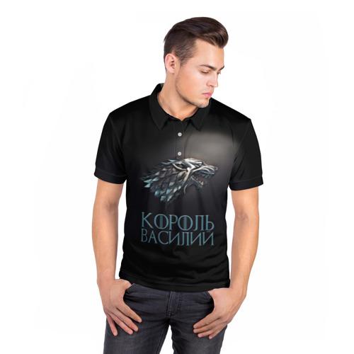 Мужская рубашка поло 3D  Фото 05, Король Василий
