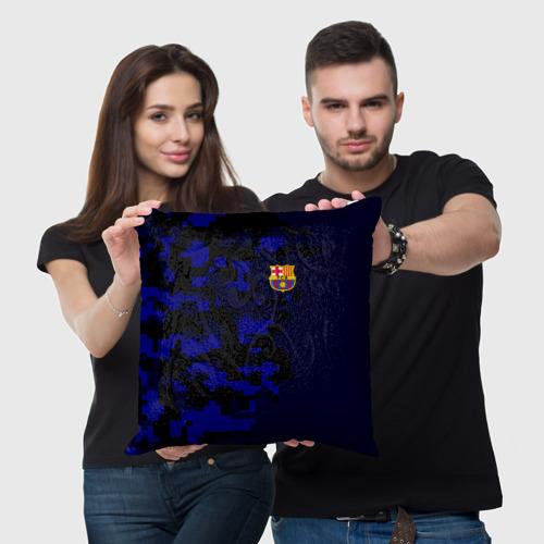 Подушка 3D  Фото 05, FC Barca 2018 Military Sport