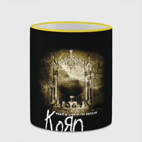 Кружка с полной запечаткой  Фото 03, Korn take a look in the mirror