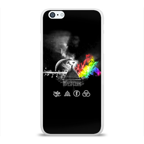 Чехол для Apple iPhone 6Plus/6SPlus силиконовый глянцевый  Фото 01, Led Zeppelin