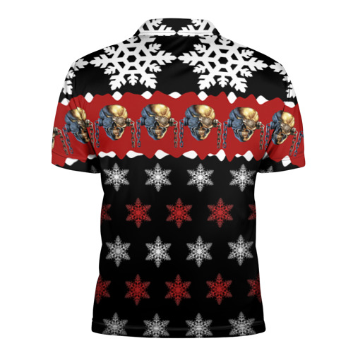 Мужская рубашка поло 3D  Фото 02, Праздничный Megadeth