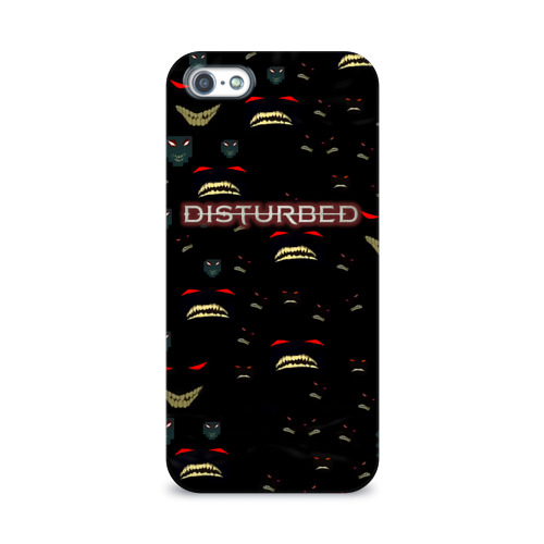 Чехол для Apple iPhone 5/5S 3D  Фото 01, Disturbed