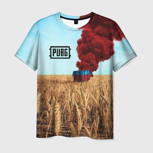 Мужская футболка 3D PUBG _8