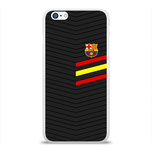Чехол для Apple iPhone 6Plus/6SPlus силиконовый глянцевый  Фото 01, FC Barca 2018 Испания