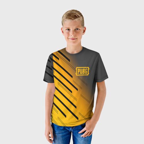 Детская футболка 3D  Фото 01, PUBG Cybersport
