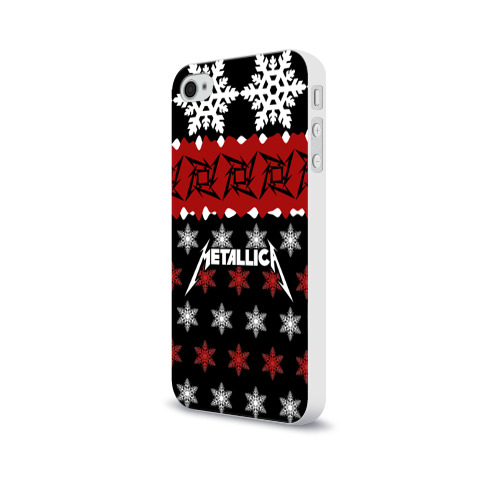 Чехол для Apple iPhone 4/4S soft-touch  Фото 03, Metallica