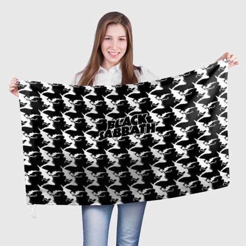 Флаг 3D  Фото 01, Black Sabbath