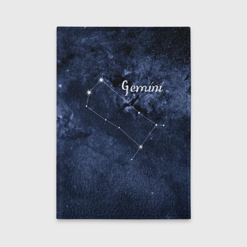 Обложка для автодокументов Близнецы (Gemini) Фото 01