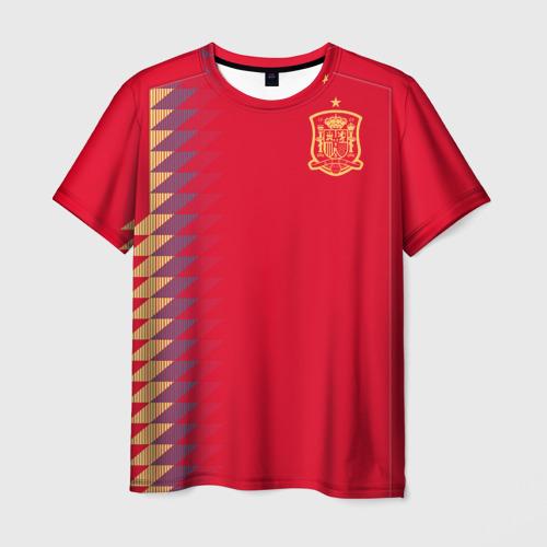 Мужская футболка 3D Испания ЧМ 2018