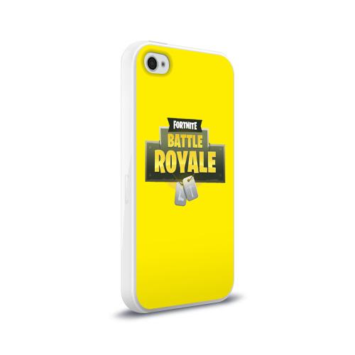 Чехол для Apple iPhone 4/4S силиконовый глянцевый  Фото 02, Battle Royale