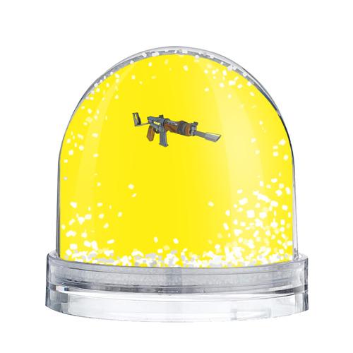 Водяной шар со снегом  Фото 02, Battle Royale