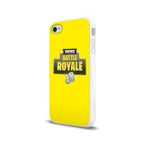 Чехол для Apple iPhone 4/4S силиконовый глянцевый  Фото 03, Battle Royale