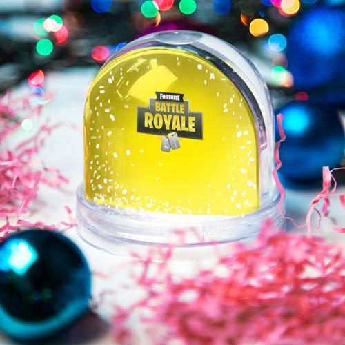 Водяной шар со снегом  Фото 03, Battle Royale