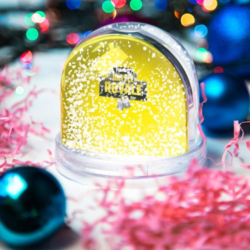 Водяной шар со снегом  Фото 04, Battle Royale