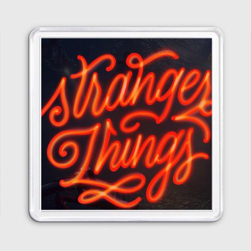 Магнит 55*55  Фото 01, Stranger things 2