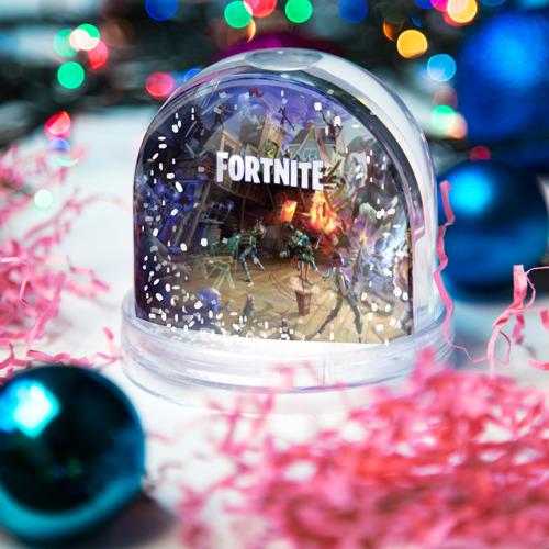 Водяной шар со снегом  Фото 03, Fortnite massacre