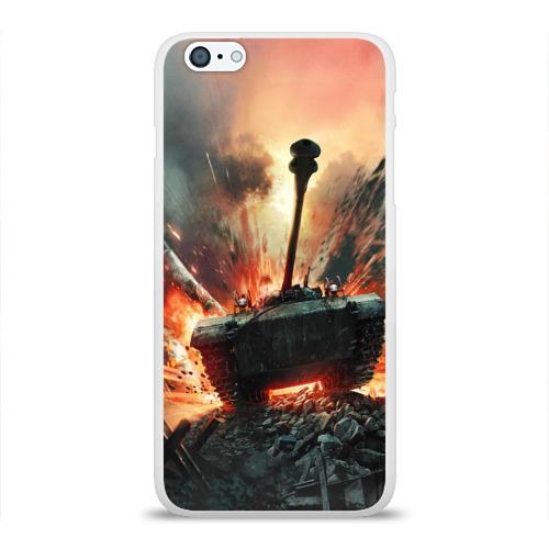 Чехол для Apple iPhone 6Plus/6SPlus силиконовый глянцевый  Фото 01, Танки