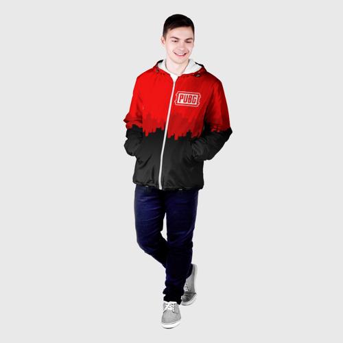 Мужская куртка 3D PUBG BLOOD  Фото 01