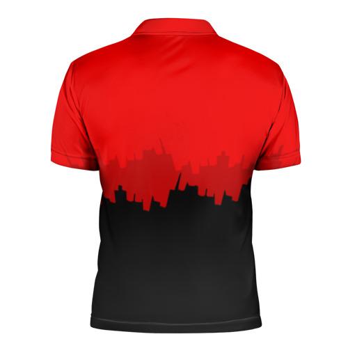 Мужская рубашка поло 3D  Фото 02, PUBG BLOOD